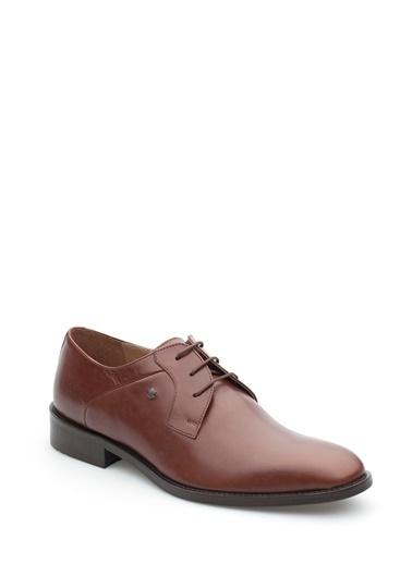 Pedro Camino Hakiki Deri Ayakkabı Taba